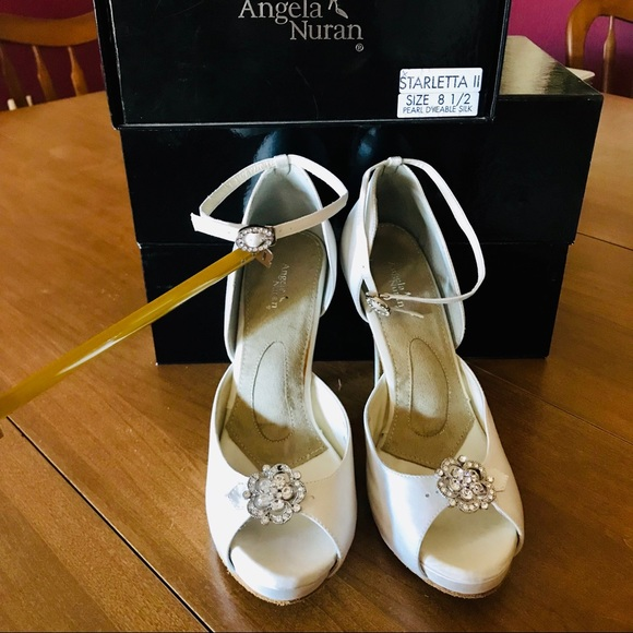 018f03cd1 Angela Nuran Shoes | Starletta Dyeable Wedding | Poshmark